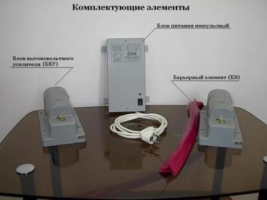 Охранно-защитной дератизационной системы