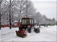 Расчистка снега
