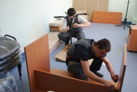 Разборка мебели