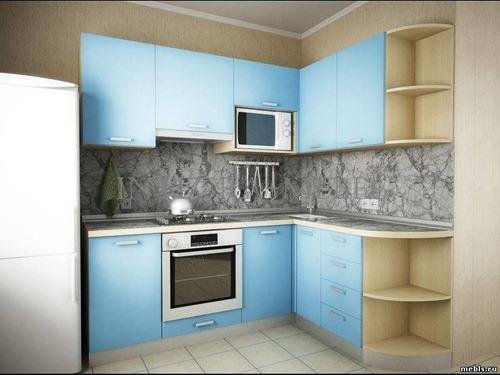 Как обставить маленькую кухню?