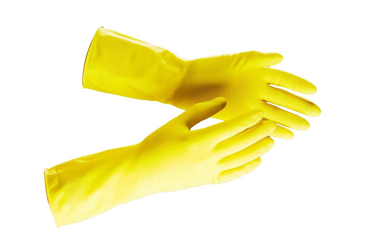 Как делают резиновые перчатки