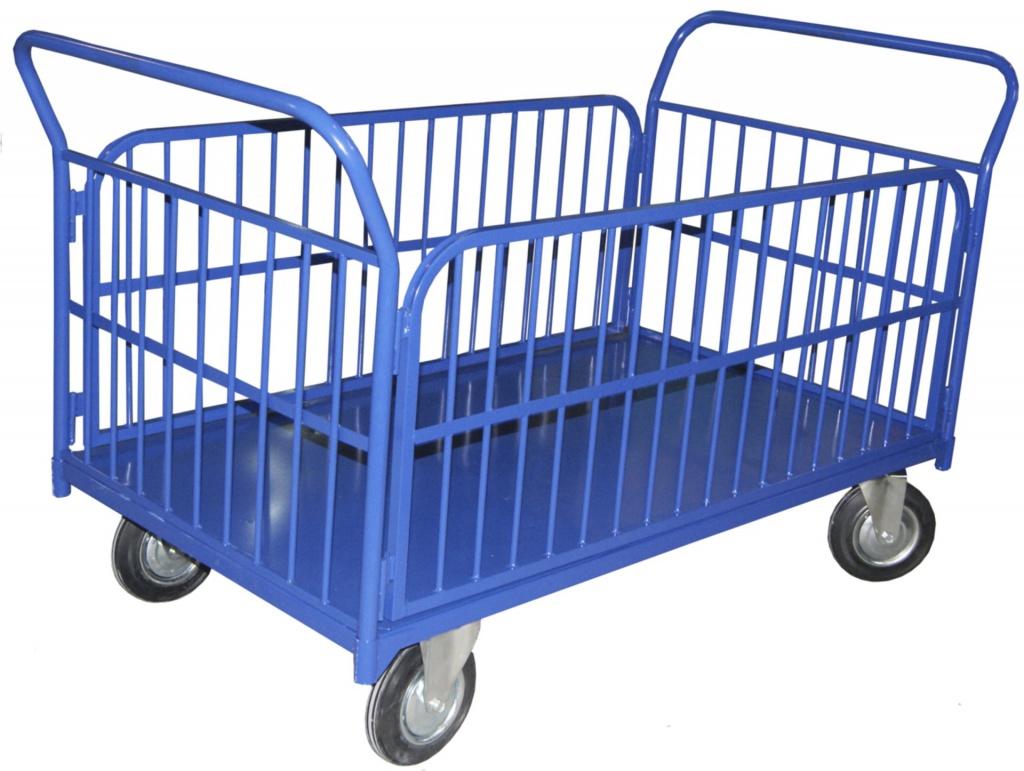 Как называется тележка для перевозки грузов
