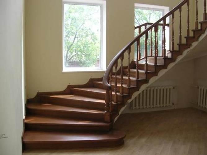 Как обшить бетонную лестницу деревом своими руками