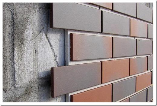 Виды фасадных материалов