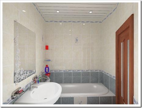 Как делать натяжные потолки в ванной?