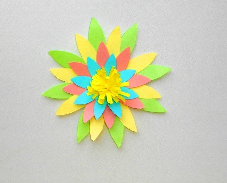 Цветы из бумаги своими руками: легко и быстро в фото