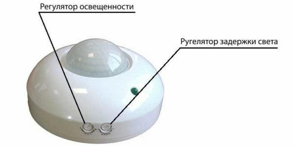 Датчик движения для включения освещения