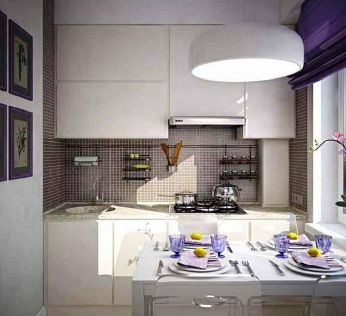 Дизайн интерьера двухкомнатной квартиры: красиво оформляем кухню и санузел