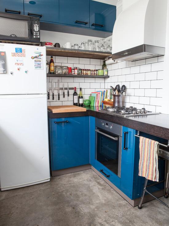 Дизайн кухни в стиле лофт: 50+ фото примеров