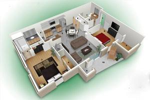 Дизайн квартиры в стиле «Лето»