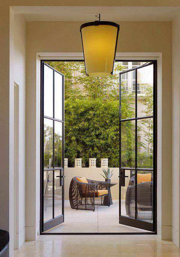 Французские окна — смелая идея эпохи Ренессанса или пик современной эстетики на 36 фото