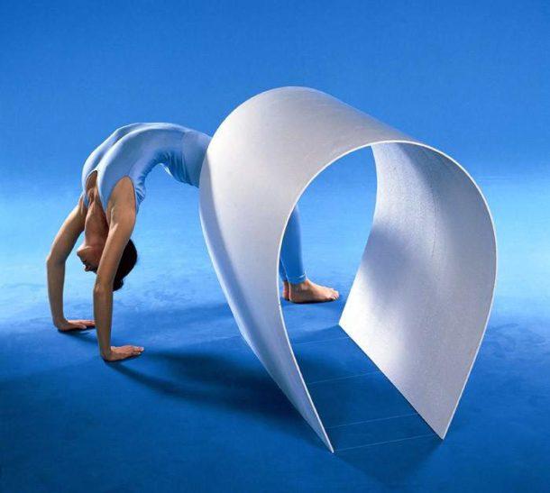 Гибкий арочный гипсокартон Knauf толщиной 6 мм