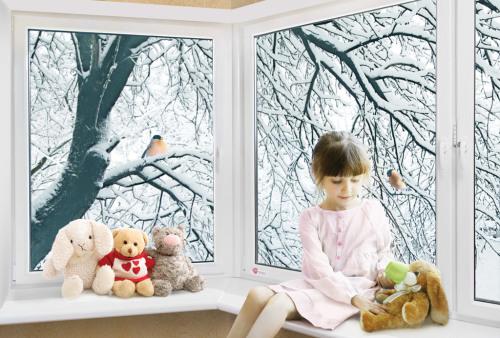 Как переводить пластиковые окна на зимний режим