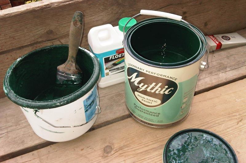 Как правильно развести водоэмульсионную краску