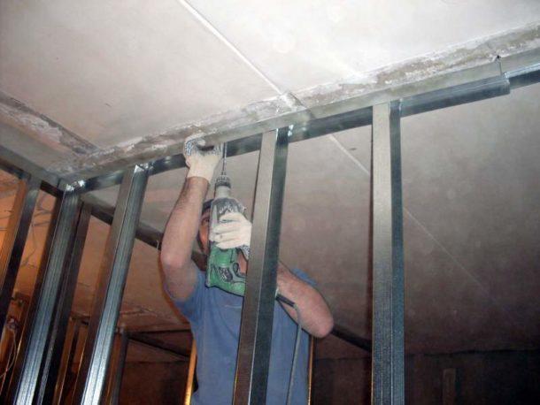 Как сделать стенку из гипсокартона своими руками