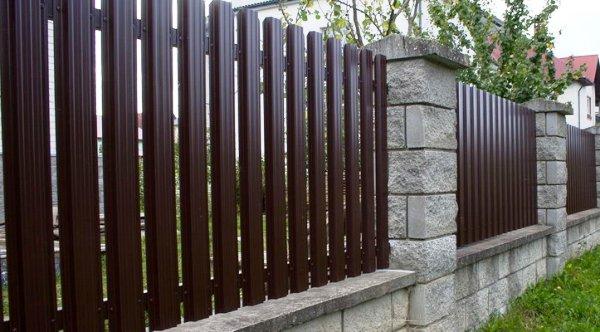 Крышки на забор — надежная защита