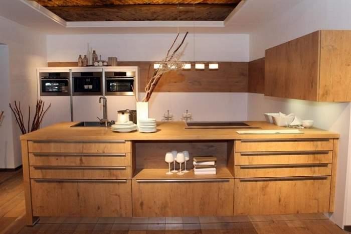 Кухни из дерева своими руками: материал, разработка и сборка