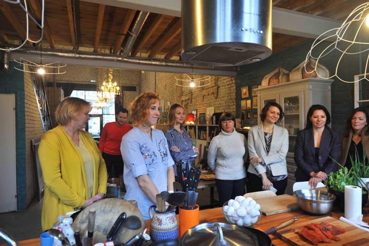 Кулинарный пресс-завтрак с Рото Франк