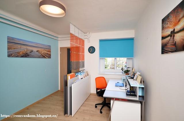 Квартира молодой студентки сияет яркими красками