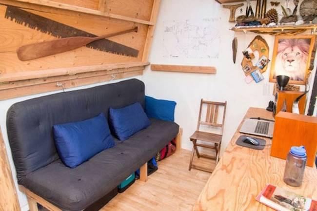 Недорогой маленький дом за 500 долларов