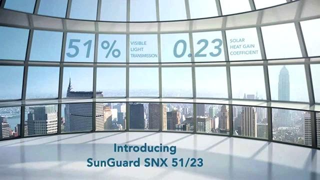 Низкоэмиссионное стекло Guardian SunGuard SNX 51/23 признано архитектурным продуктом-рекордсменом