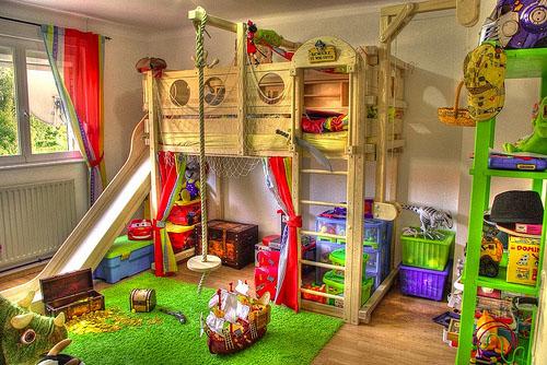 Оформление детской комнаты: множество творческих идей в фото