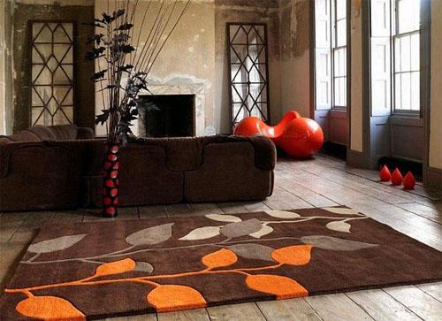 Осень в доме – пора теплого цвета в фото