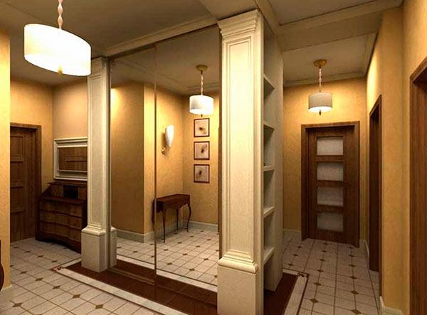 Отделка коридора в квартире