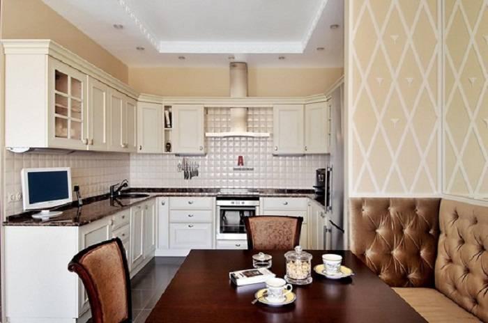 Отделка стен на кухне: 29 фото современных дизайнерских решений