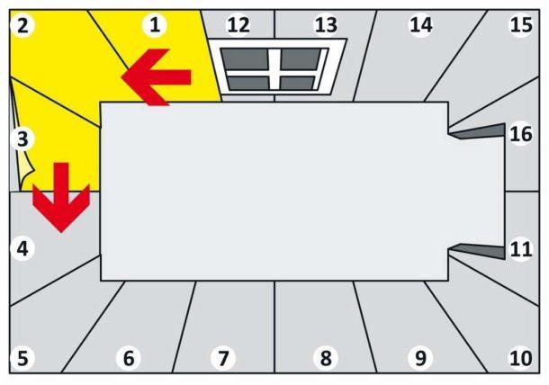 Откуда правильно начать клеить обои: от окна или от двери?