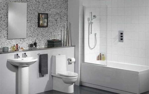 Подбираем аксессуары для ванной (48 фото)