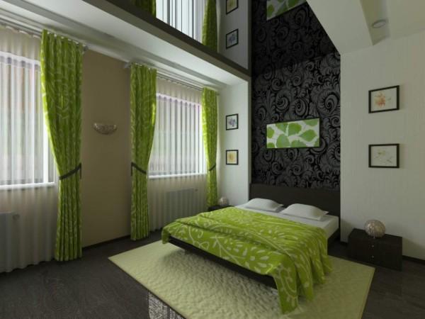 Потолок в спальне: варианты материалов и дизайна — 46 красивых фото
