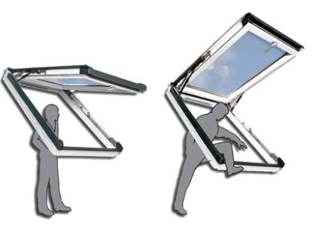 Представлено самое тёплое наклонно-сдвижное мансардное окно в мире
