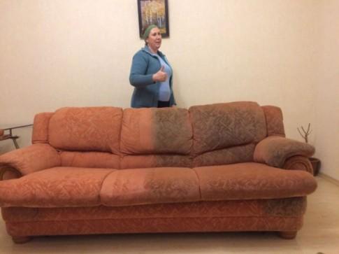 Профессиональная чистка диванов, ковров и мягкой мебели дома