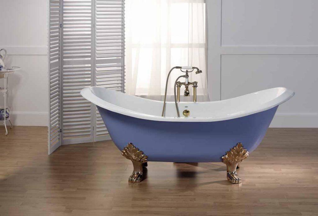 Реставрация старых ванн при помощи акрилового вкладыша