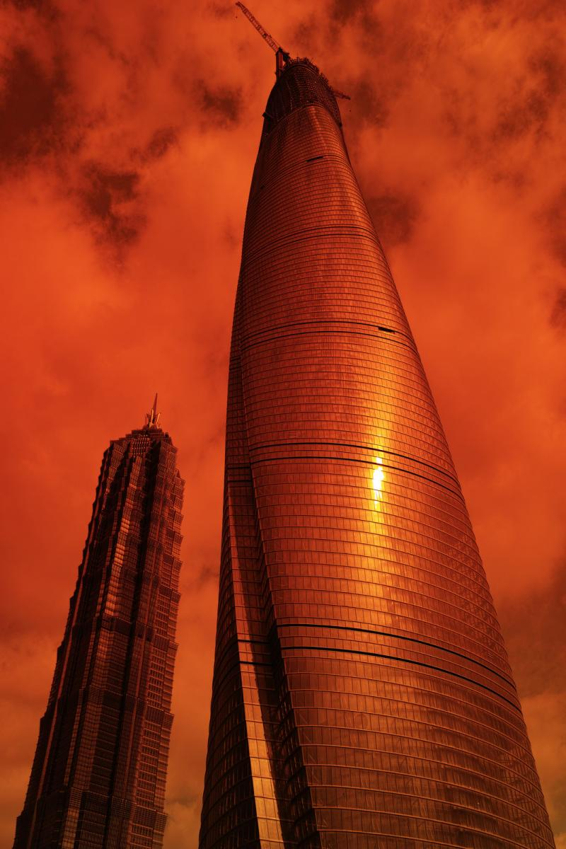 Шанхайская башня - самый высокий небоскреб Китая