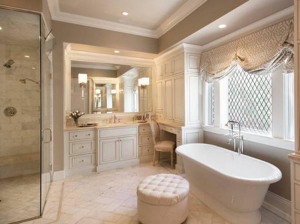 Современная ванная комната в частном доме: 43 лучших идеи на фото