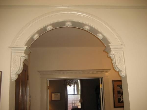 Стильная арка из гипсокартона в интерьере квартиры – 34 фото