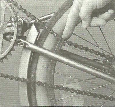 Уход за велосипедной цепью
