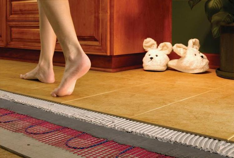 Выбираем и устанавливаем теплый пол под ламинат: инструкция по монтажу