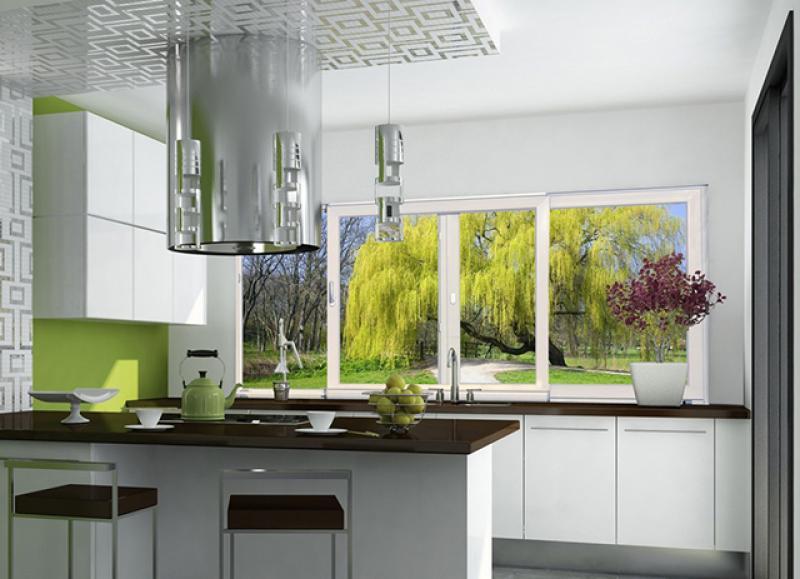 Выбираем пластиковое окно на кухню