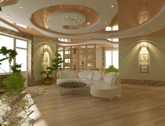 О натяжных потолках и их дизайне