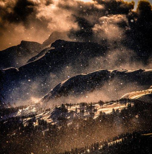 Чарівні зимові гори