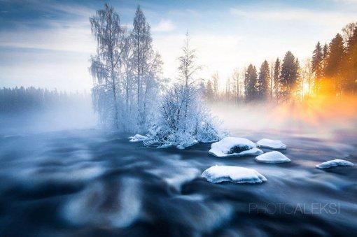 Чудові  ландшафти взимку