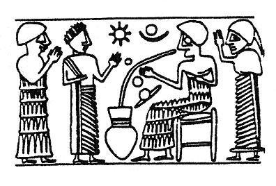 Изображения солнечной системы Месопотамии