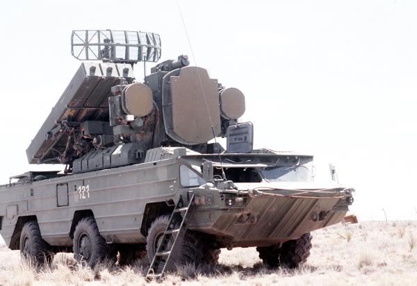 """Зенітно-ракетный комплекс 9К33М2 """"Оса-АК"""""""