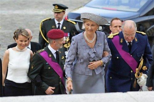 Королева Бельгии Паола