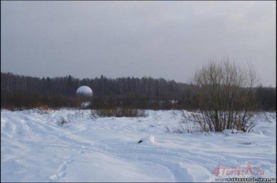 Тайна огромного шара в Тверской области