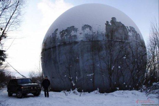 Огромный шар в Твери