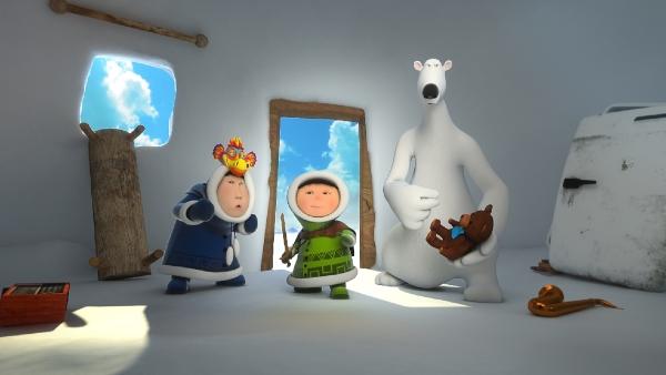 Анімаційний серіал «Ескімоска: пригоди в далекій Арктиці»